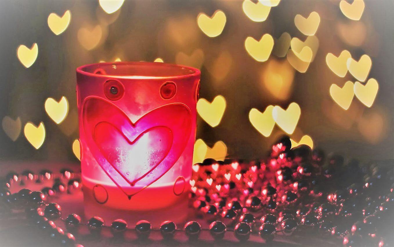 foto-lichtjes-in-de-vorm-van-hartjes-hd-liefde-wallpaper